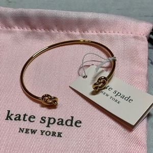 Kate Spade Double Loves Me Knot Cuff